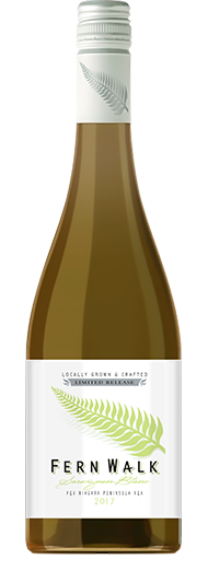 Fern Walk Sauvignon Blanc wine bottle